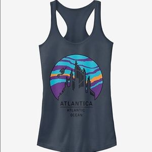 Disney Little Mermaid Atlantica tank top